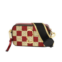 MARC JACOBS Snapshot Other Check Patterns Leather Shoulder Bags