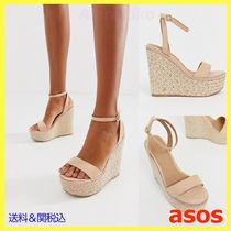 ASOS Open Toe Elegant Style Platform & Wedge Sandals