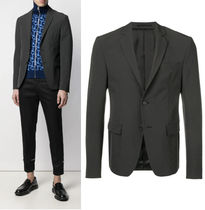 PRADA Other Check Patterns Blazers Jackets
