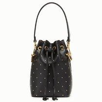 FENDI MON TRESOR Casual Style Calfskin Plain Purses Crossbody Handbags
