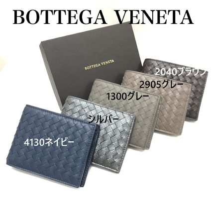 BOTTEGA VENETA Folding Wallets Plain Leather Folding Wallets 9