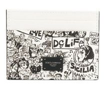 Dolce & Gabbana Street Style Leather Card Holders