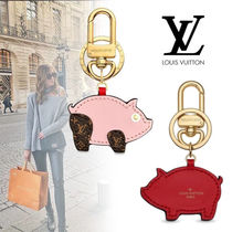 Louis Vuitton Monogram Canvas Chain With Jewels Keychains & Bag Charms