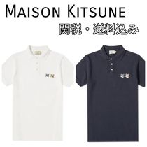 MAISON KITSUNE Street Style Other Animal Patterns Cotton Short Sleeves