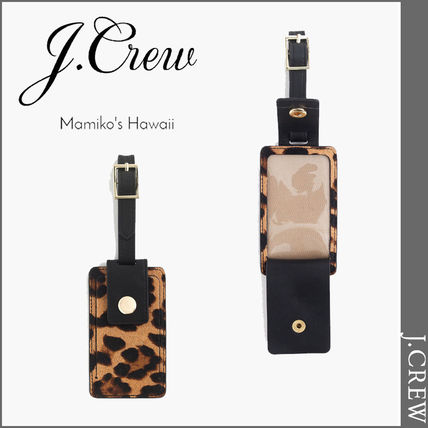 Leopard Patterns Leather Card Holders