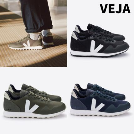Round Toe Rubber Sole Lace-up Casual Style Unisex