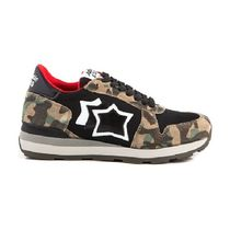 Atlantic STARS Star Camouflage Casual Style Khaki Low-Top Sneakers