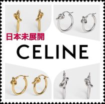 CELINE Elegant Style Earrings & Piercings