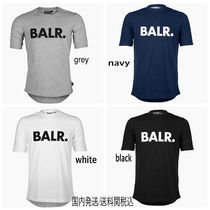 BALR Crew Neck Plain Cotton Short Sleeves Crew Neck T-Shirts