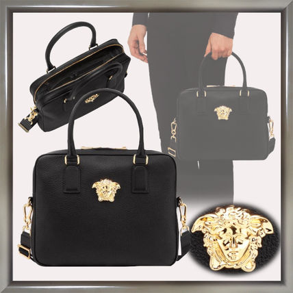 Unisex 2WAY Leather Business & Briefcases