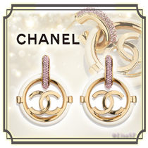 CHANEL BOY CHANEL Costume Jewelry Elegant Style Earrings & Piercings