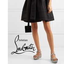 d3f443a6a748 Christian Louboutin Pyraclou Elegant Style Heeled Sandals