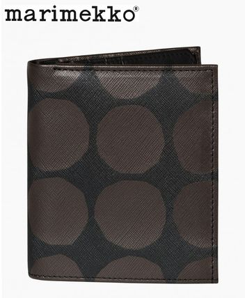 Dots Leather Folding Wallets