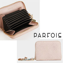 PARFOIS Flower Patterns Faux Fur Card Holders