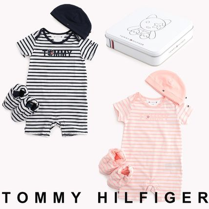 Tommy Hilfiger 2019 SS Unisex Street Style Baby Girl Dresses & Rompers  (KN0KN00993)