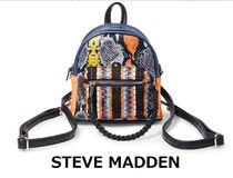 Steve Madden Tropical Patterns Casual Style Blended Fabrics Street Style
