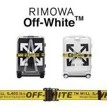 Off-White Collaboration 1-3 Days Soft Type Carry-on