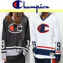 CHAMPION Street Style Long Sleeves Tops