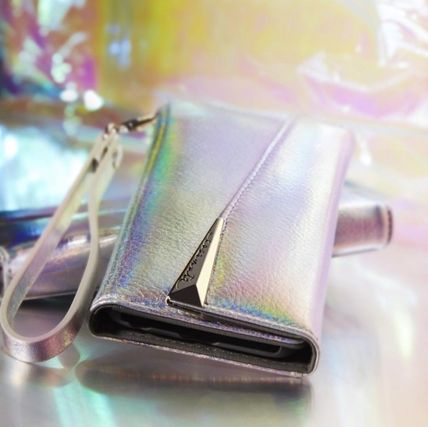 Wristlet Folio Iridescent for iPhone XS and iPhone X