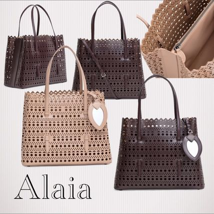 2WAY Leather Elegant Style Totes