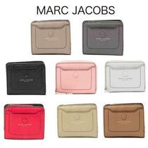 MARC JACOBS Plain Leather Folding Wallets