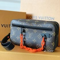 Louis Vuitton MONOGRAM Monogram Unisex Canvas Blended Fabrics Street Style
