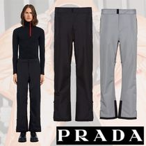 PRADA Nylon Plain Pants