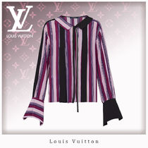 Louis Vuitton Casual Style Silk Long Sleeves Shirts & Blouses