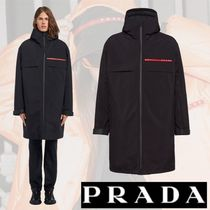 PRADA Plain Long Coats