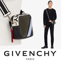 GIVENCHY Street Style Plain Leather Messenger & Shoulder Bags