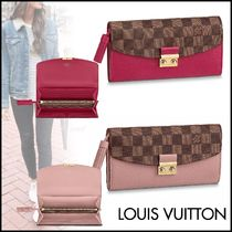 Louis Vuitton DAMIER Other Check Patterns Canvas Blended Fabrics Tassel Bi-color
