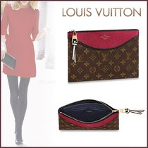 Louis Vuitton MONOGRAM Monogram Canvas Blended Fabrics Bi-color
