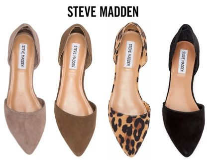 Open Toe Casual Style Suede Espadrille Shoes