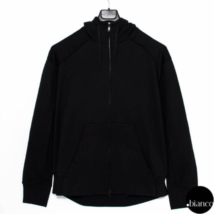 Y-3 Hoodies Street Style Long Sleeves Cotton Oversized Hoodies 2