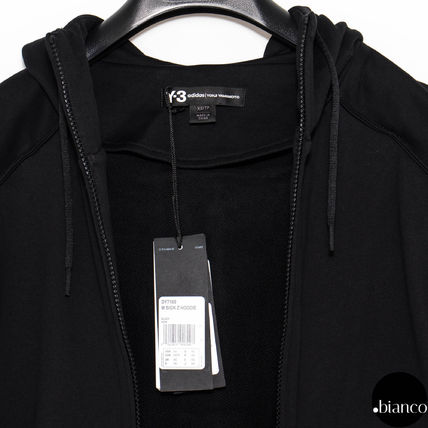 Y-3 Hoodies Street Style Long Sleeves Cotton Oversized Hoodies 6
