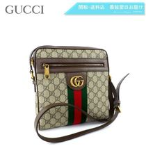 GUCCI Ophidia PVC Clothing Messenger & Shoulder Bags
