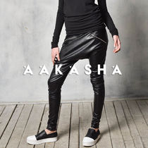 Aakasha Faux Fur Plain Long Elegant Style