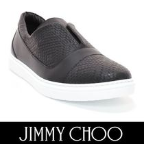 Jimmy Choo Plain Leather Loafers & Slip-ons