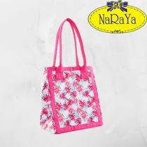 NARAYA Flower Patterns Casual Style Totes