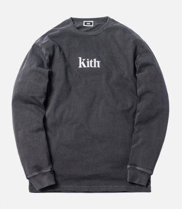 KITH NYC Long Sleeve Crew Neck Street Style Long Sleeves Cotton 2