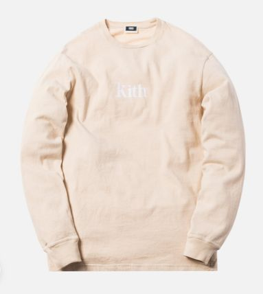 KITH NYC Long Sleeve Crew Neck Street Style Long Sleeves Cotton 8