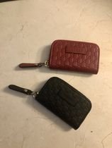 GUCCI Unisex Leather Coin Cases