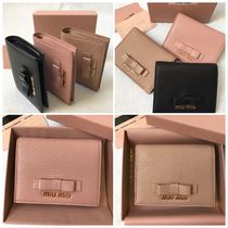 MiuMiu MADRAS Folding Wallets