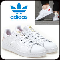 adidas STAN SMITH Casual Style Unisex Leather Logo Low-Top Sneakers