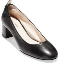 Cole Haan Plain Leather Office Style Pumps & Mules
