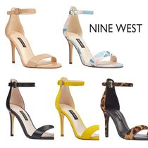 Nine West Leather Heeled Sandals