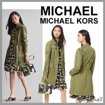 Michael Kors Casual Style Plain Medium Jackets