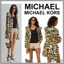 Michael Kors Camouflage Casual Style Jackets