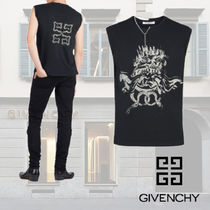 GIVENCHY Crew Neck Sleeveless Vests & Gillets