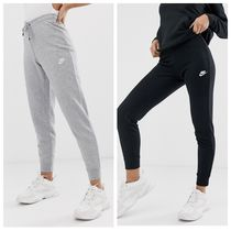 Nike Casual Style Unisex Street Style Plain Cotton Pants
